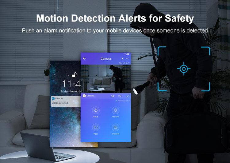 Detectie miscare cu notificare